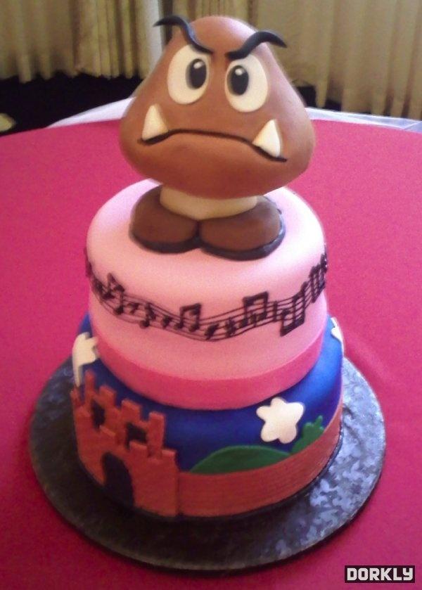 Goombah!: Character Cakes, Dreams Cakes, Goomba Cakes, Cakes Nintendo, Wedding Cakes, Kawaii Cakes, Cakes Wreck, First Birthday Cakes, Grooms Cakes