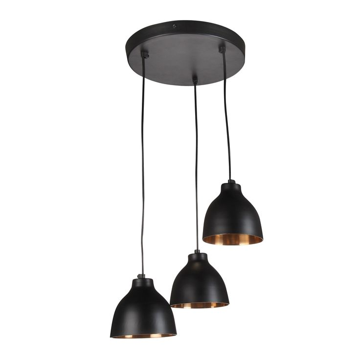 1000 images about luminaires on pinterest wanderlust for Luminaire noir suspension