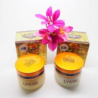 Cream Lyese Besar / Cream Lyese set Day Dan Night