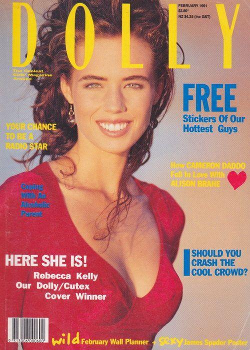 Dolly Magazine (Australia) February 1991 | Rebecca Kelly