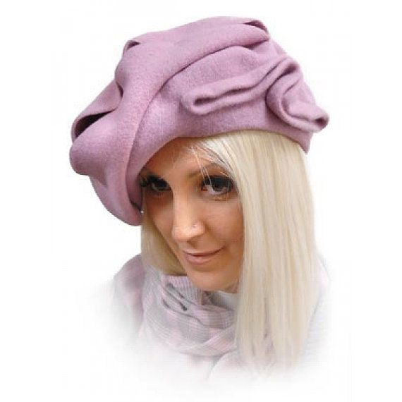 Finest Irish fashion beret Florance. by ShamrockArts on Etsy