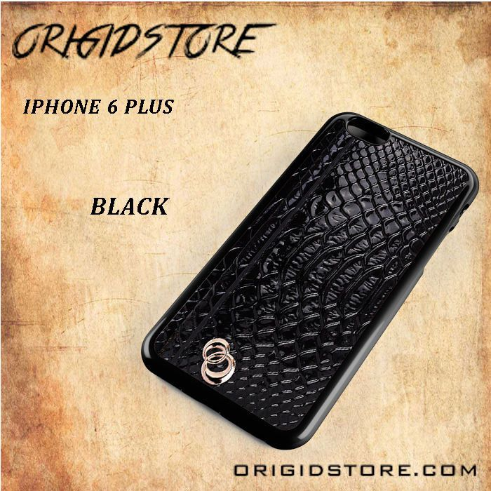 Woman Black Leather Walet Black White Snap On Or 3D For Iphone 6 Plus
