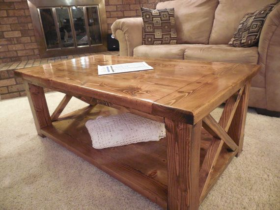 ... Coffee Table on Pinterest | Pine table, Farm dining table and Easy diy