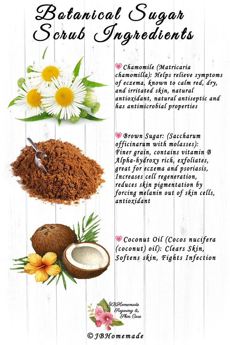 Jbhomemade Natural Skincare Ingredients List Benefits To The