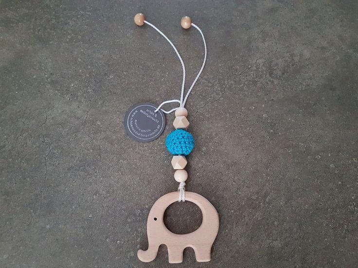 Kinderwagenanhänger - Anhänger 'freie Farbwahl' Maxi Cosi Elefant Holz - ein Designerstück von schoen_und_selbstgemacht bei DaWanda