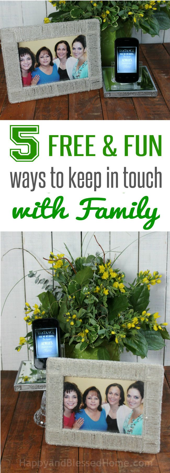 Great list of free apps for 5 Free and Fun Ways to keep in touch with Family - Video | Skype | Photo Sharing | Online Chat  #MobileMemories #cbias #FamilyMobile #ad #freeapps