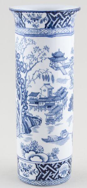 RP: Woods Kang Hi Vase Spill c1920s