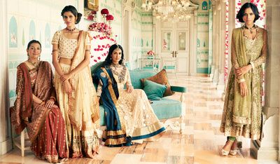 Ritu kumar fall winter collection 2015, sister f the bride, bridesmaid, royal