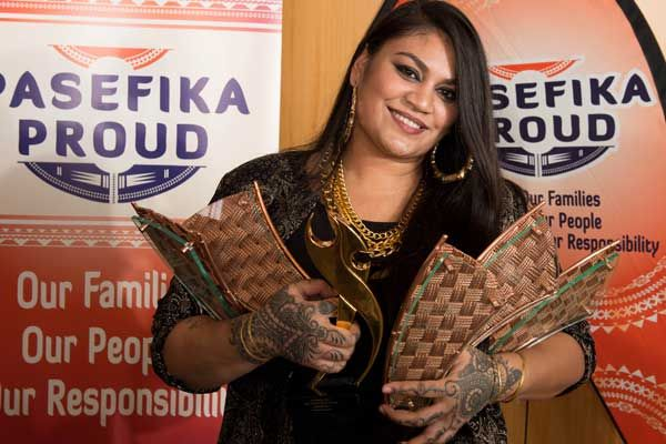 Aaradhna at the Pacific Music Awards