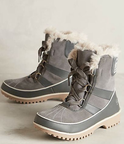 Sorel lined winter boots