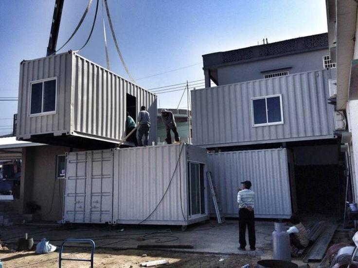 Rumah Kontainer Ramah Lingkungan