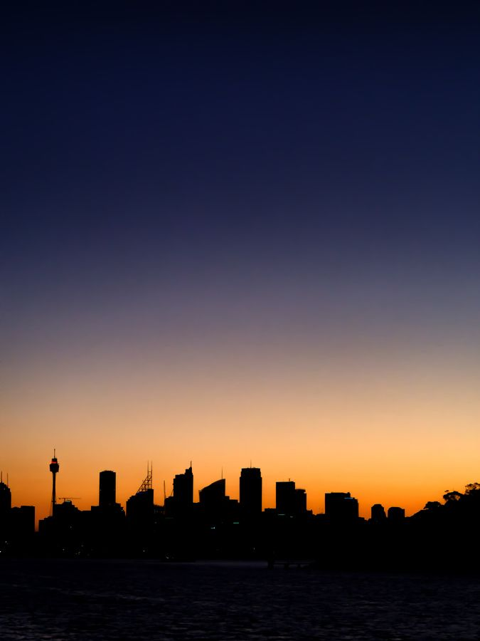 Sydney Skyline by Paul Emmings