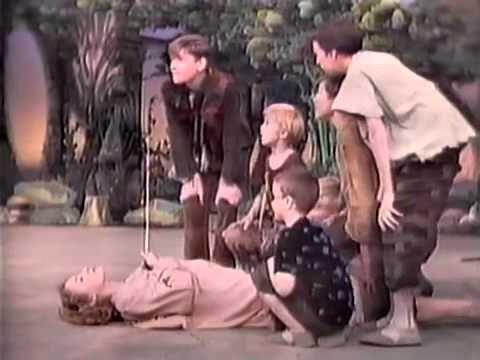 Peter Pan (1960) Mary Martin, Cyril Ritchard, choreography by Jerome Robbins.