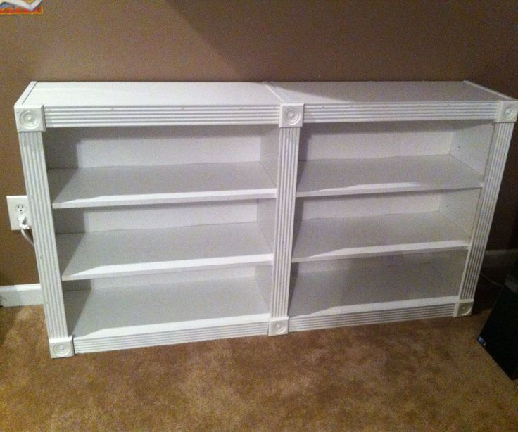 """Even before we had kids, our house has always been teeming with books. Unfortunately, nice looking bookshelves are expensive–especially if you want to add several to a room. In this tutorial, I will show you how I quickly upgraded some inexpensive Walmart bookshelves. If you find this idea helpful, I'd appreciate your like or your vote in the """"Furniture Hack"""" contest I've entered. :)This is a quick project, so let's get building!"""