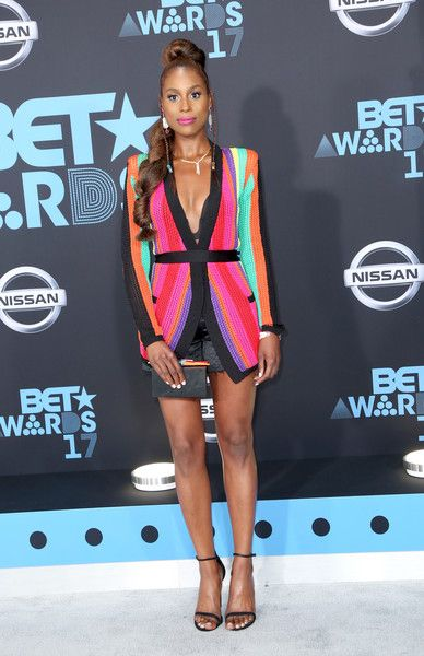 Issa Rae Photos - Issa Rae at the 2017 BET Awards at Microsoft Square on June 25, 2017 in Los Angeles, California. - 2017 BET Awards - Arrivals