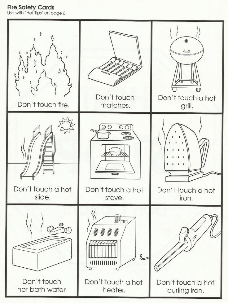 Squish Preschool Ideas: Fire Safety