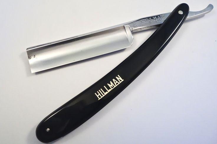 HILLMAN 880 Supreme Razor - Vintage Japanese Straight Razor - Honed & Shave Ready