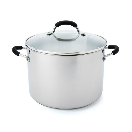 Raco Contemporary Stainless Steel Stockpot 9.5L
