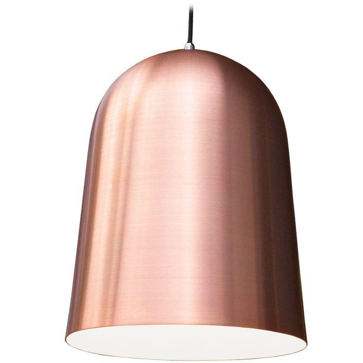 Timeless minimalist Copper pendant lighting Kupoli by Matti Syrjälä.