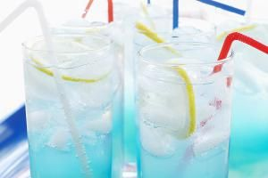 Transform Your Long Island Into an Electric Blue Iced Tea: Electric Iced Tea