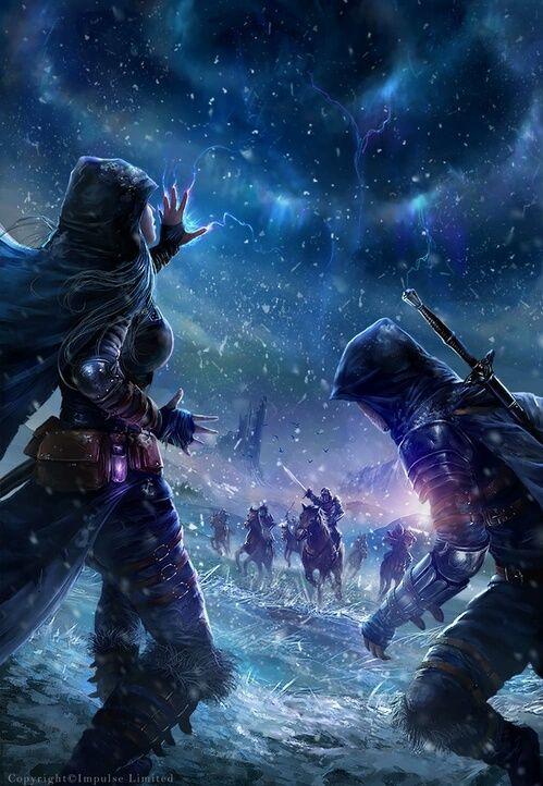 grafika fantasy and art