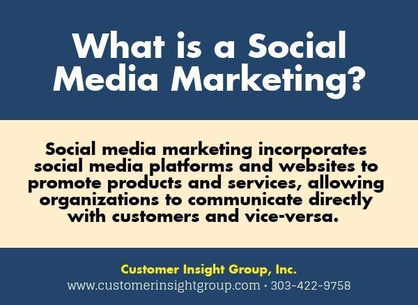 Definition Of Social Media Marketing Social Media Marketing