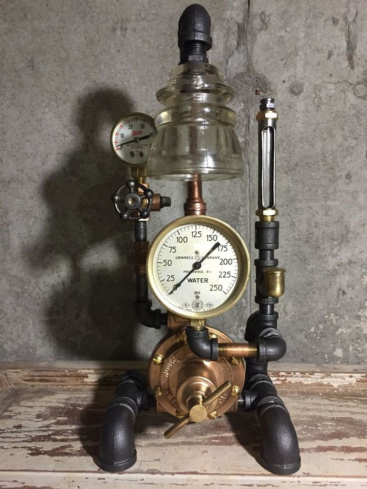 17 Best Images About Machine Age Lamps On Pinterest
