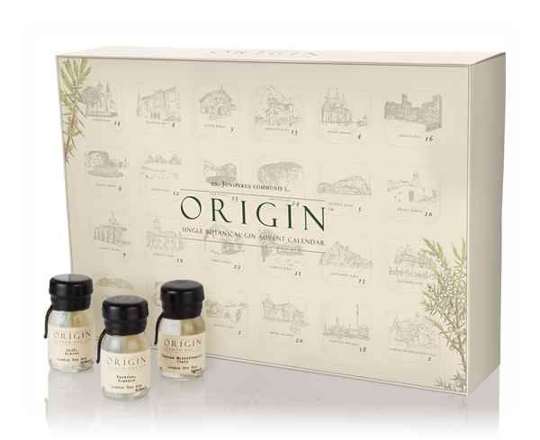 The Origin Single Botanical Gin Advent Calendar (2016 Edition) - Master of Malt
