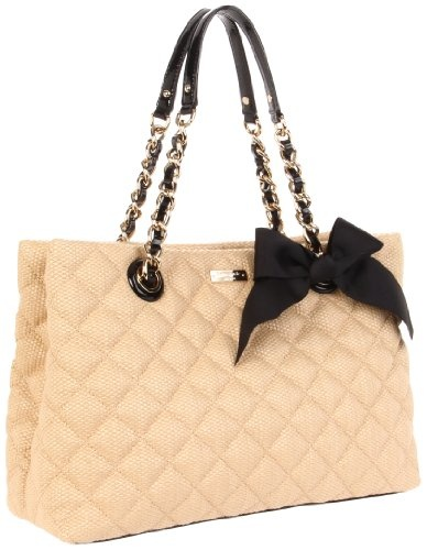 Kate Spade... Cheaper than my chanel i bet!!
