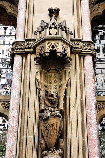 Anz Gothic Bank - Melbourne, Australia #Gothic #Revival #architecture DETAIL