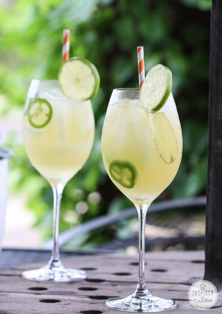 Sweet Heat - vodka and pineapple juice get a spicy twist with jalapeños and ginger in this delicious cocktail!
