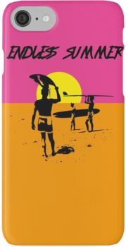 ENDLESS SUMMER - CLASSIC SURF MOVIE iPhone 7 Cases