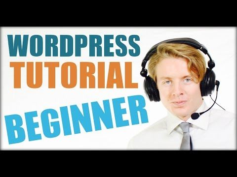 WordPress for BEGINNERS tutorial 2016 - FULL SERIES