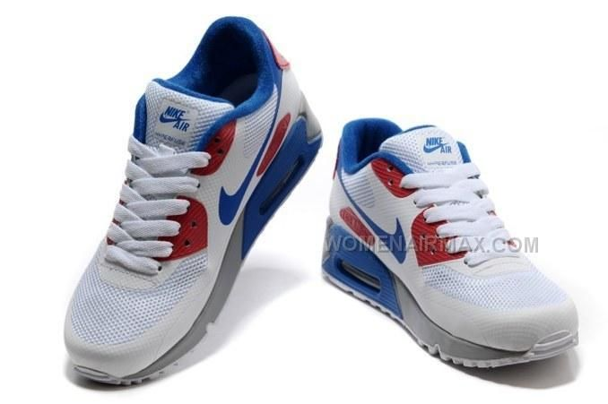 http://www.womenairmax.com/2015-cheap-air-max-90-hyperfuse-prm-womens-shoes-for-sale-white-blue-red.html Only$89.00 2015 CHEAP AIR MAX 90 HYPERFUSE PRM WOMENS #SHOES FOR SALE WHITE BLUE RED #Free #Shipping!