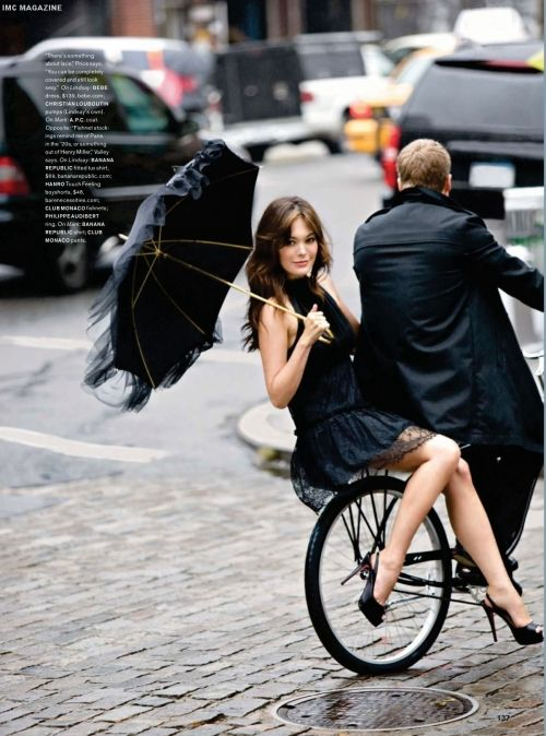 LBD & a bicycle...perfect day!