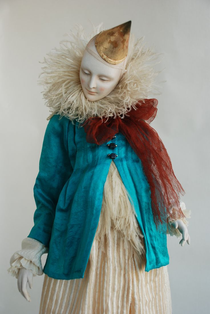 Куклы Ольги Сукач   Голубь