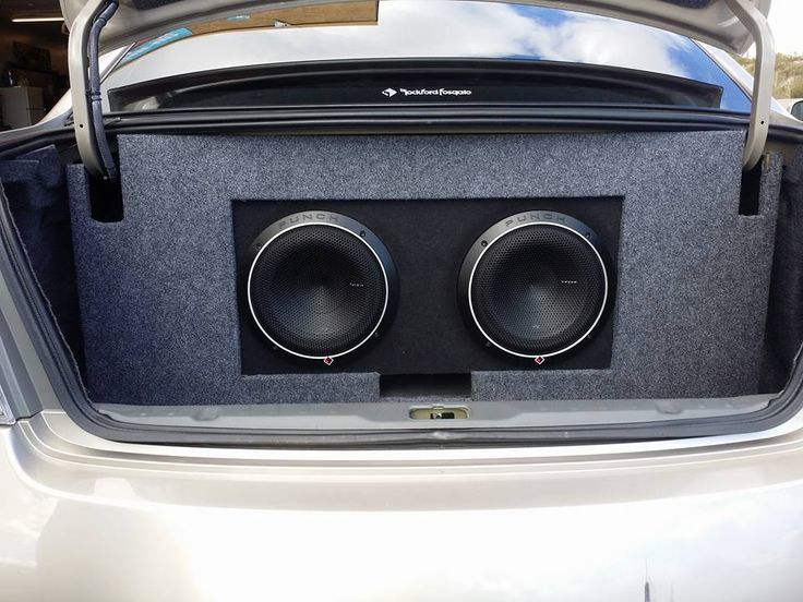 The customer of this 2006 Nissan Altima came in looking for a new stereo and wanted to get his own sub's installed. We found out that the customer loved his Android phone so we showed in the DDX9902S with Android Auto. Than we recommended that we build a custom box and the customer was all over it. In the end everything turned out clean and the customer called the next day just to thank us again. #Custom #Nissan #Altima #Subwoofer #AudioExpress #QualityAutoSound