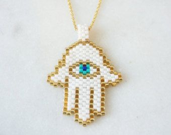 Items similar to Cross stitch necklace, necklace, cross stitch jewelry, jewelry, Valentine's Day gift, embroidery necklace, evil eye necklace, on Etsy