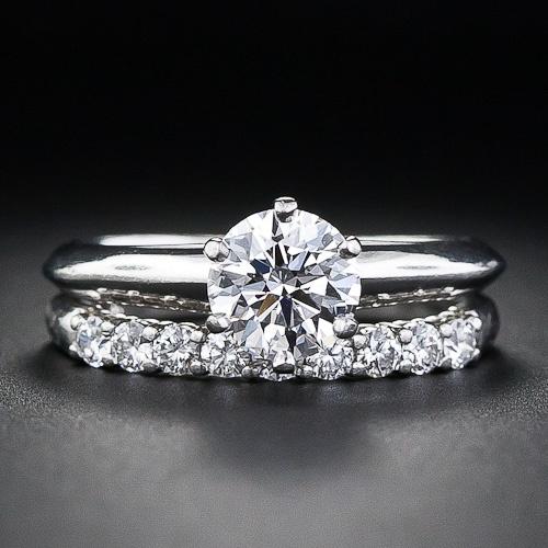 Image result for tiffany's wedding set