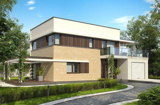 Projekt domu  Zx63 A