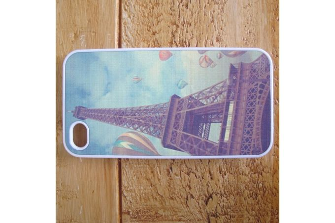 Eiffel Tower Phone Cover by Didzy Designs