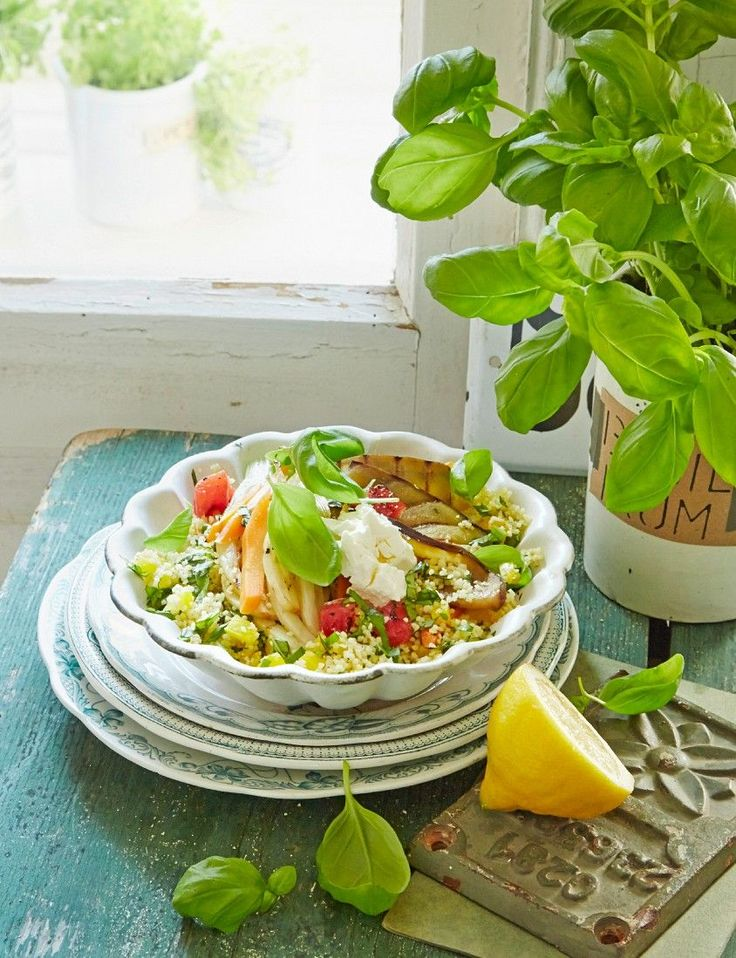 Couscous mit buntem Gemüse | http://eatsmarter.de/rezepte/couscous-mit-buntem-gemuese-2