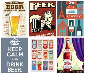 Download | 13 Pôsteres Vintage Para Decorar O Bar Em Casa | Bendito Papel