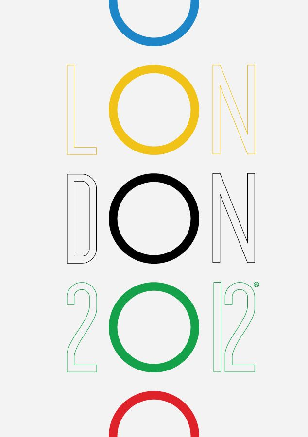 2012 London Olympics poster in Poster
