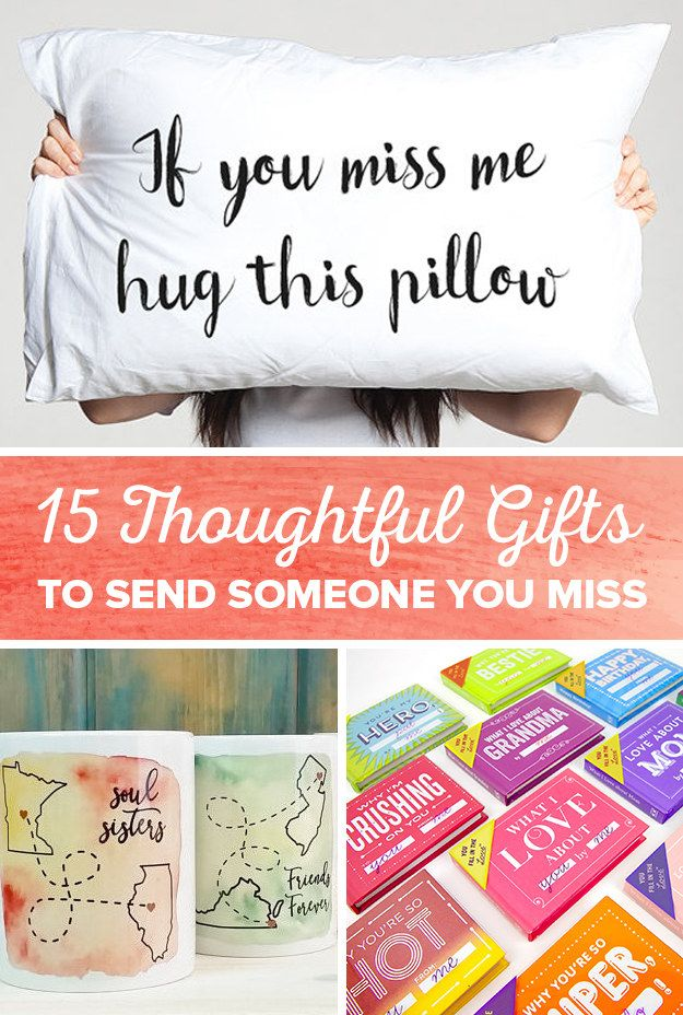 15 Thoughtful Gifts To Send Someone You Miss