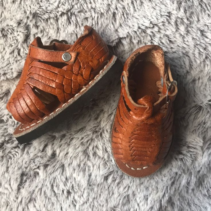 Baby sandals Huarache shoes 3-6 months | Color: Black | Size: 3-6 months