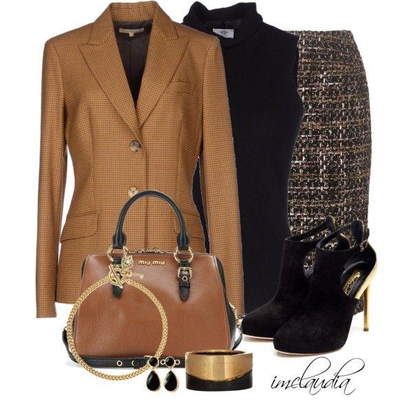 Miu Miu Bag and Tweed, created by imclaudia-1 on Polyvore