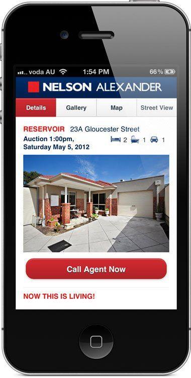 nelsonalexander.com.au - mobile website - property details.