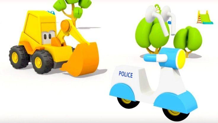 3D Animation für Kinder - Max der Bagger und das Überraschungsei - Das P...