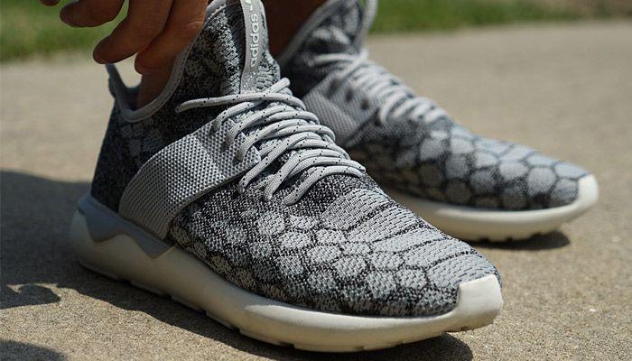 adidas Tubular Runner Primeknit 'Stone'